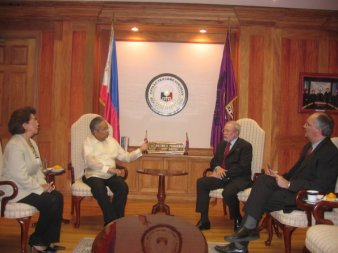 Courtesy Call of France Amb. Gerald Chesnel. May 05,05_2159.jpg_595