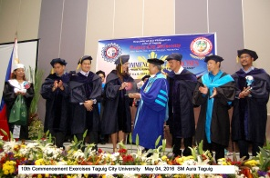 10th Commencement Exercises Taguig City University May 04, 2016 SM Aura Taguig