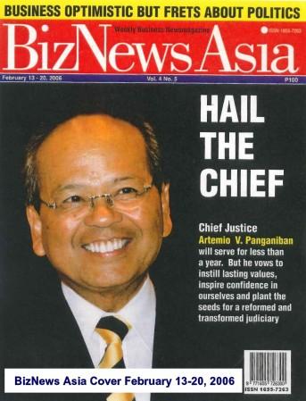 BizNews Asia Cover February 13-20, 2006