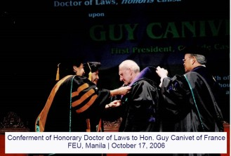 conferment-of-honorary-doctor-of-laws-to-hon.-guy-canivet-of-france-feu-manila-october-17-2006