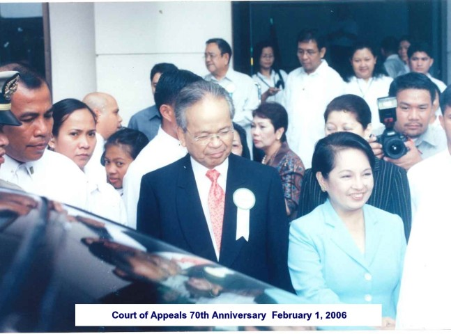Court of Appeals 70th Anniversary February 1, 2006