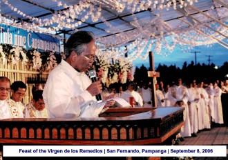 Feast of the Virgen de los Remedios San Fernando, Pampanga September 8, 2006