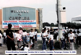 Ground-Breaking Ceremony, Candaba Hall of Justice Candaba, Pampanga October 12, 2006