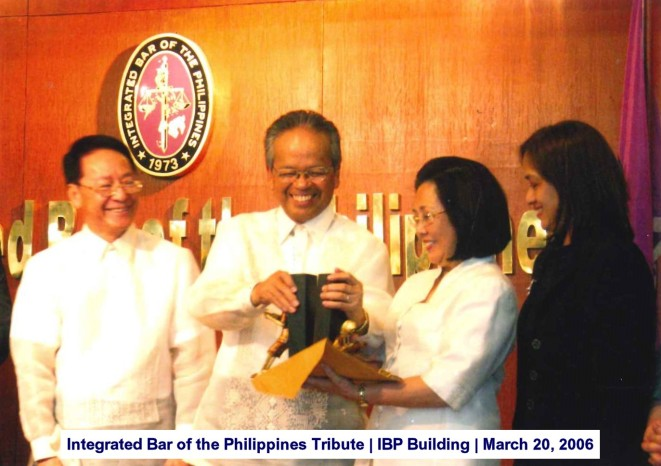 Integrated Bar of the Philippines Tribute IBP Building March 20, 2006