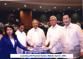 Launching of E-Payment System Makati April 21, 2006
