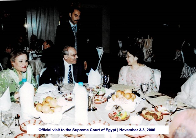 Official visit to the Supreme Court of Egypt November 3-8, 2006(2)