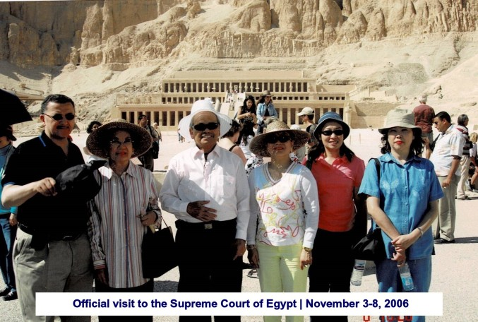 Official visit to the Supreme Court of Egypt November 3-8, 2006(4)