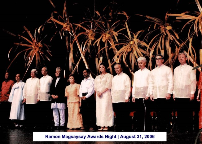 Ramon Magsaysay Awards Night August 31, 2006