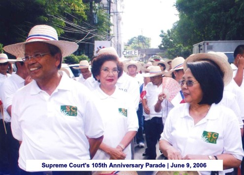 Supreme Court's 105th Anniversary Parade June 9, 2006