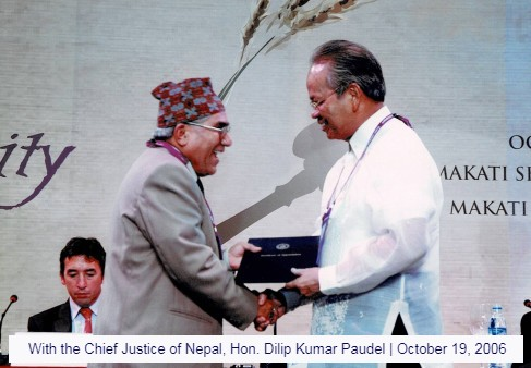 with-the-chief-justice-of-nepal-hon.-dilip-kumar-paudel-october-19-2006