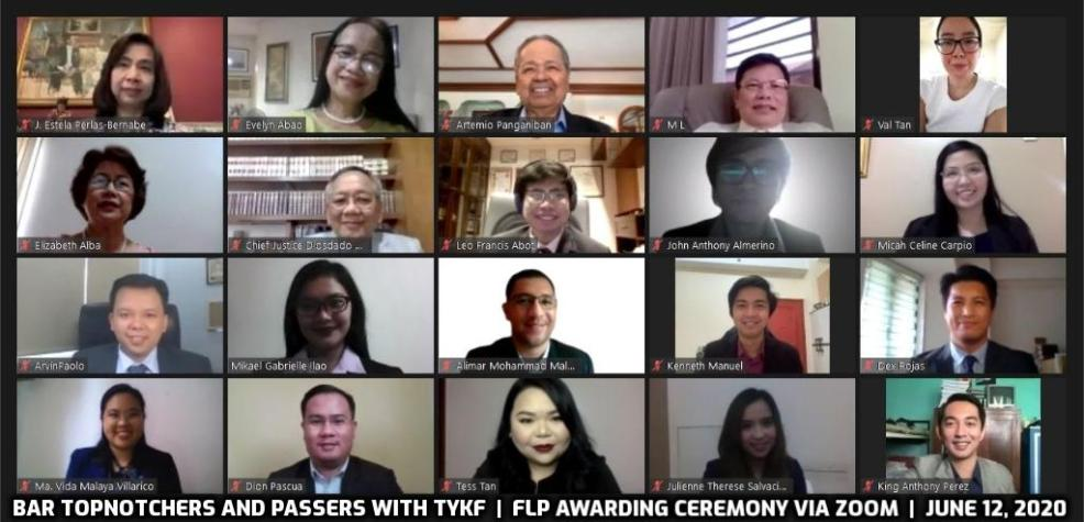 Bar topnotchers and passers with TYKF