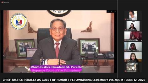 Chief Justice Peralta